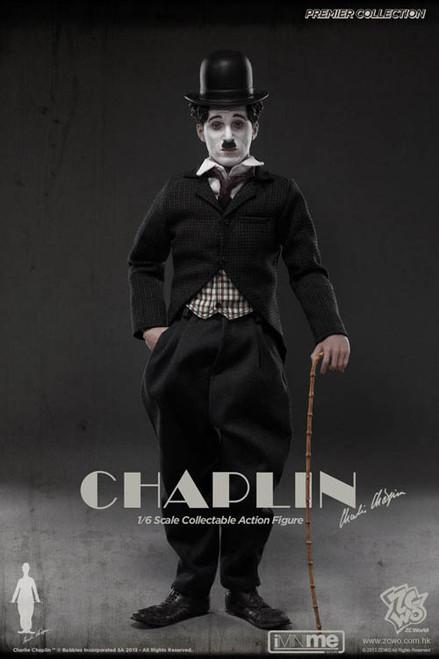 [ZC-102] ZC World Premier Collection Charlie Chaplin Action Figure Boxed Set