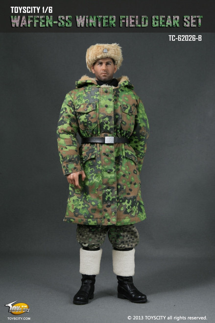 [TC-62026-B] WWII Waffen-SS Winter Field Gear Set – Spring oak-leaf camouflage and Pea dot camouflage trousers