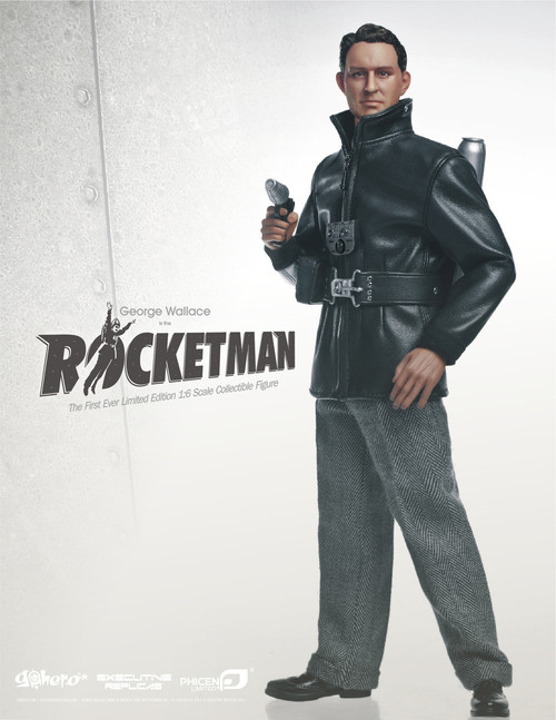 "[PL-ROCKETMAN] PHICEN LIMITED Rocketman 12"" Deluxe Collector Figure"
