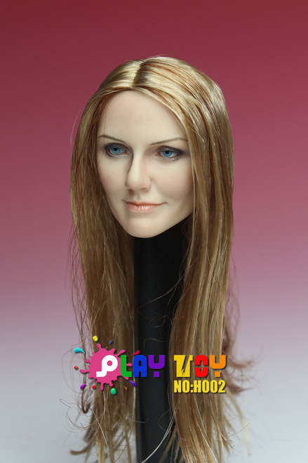 [PT-H002] Play Toy Caucasian Female Character Head