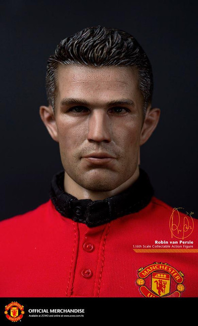 "[ZC-138] ZC World Manchester United ""v.Persie"" Soccer Player Action Figure"