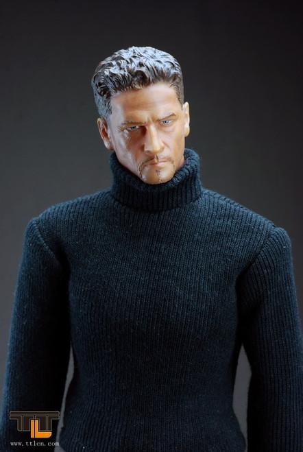 [TTL-68031] TTL Man Wearing Long Suit- Dark Grey