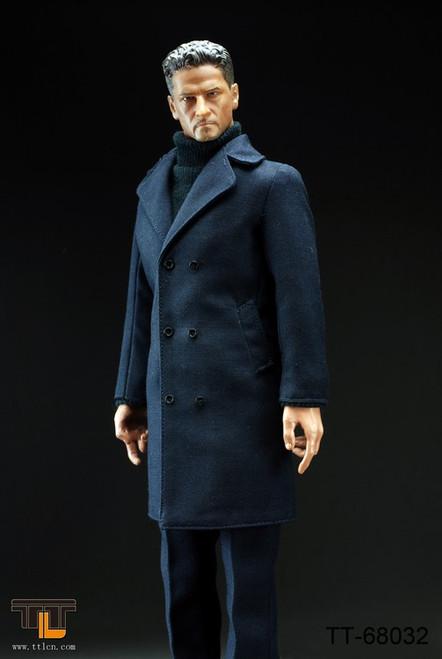 [TTL-68032] TTL Man Wearing Long Suit-Dark Blue