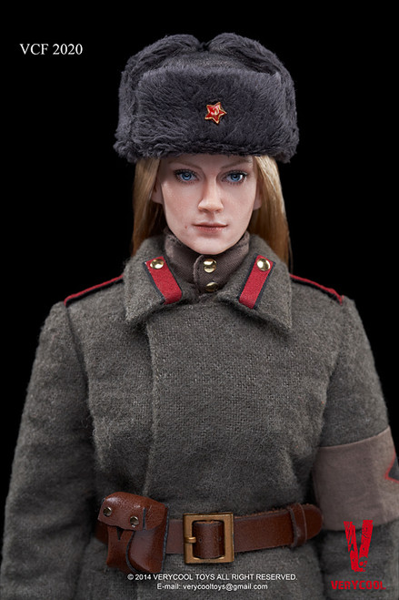 [VCF-2020] Very Cool Soviet Red Army Female Soldier