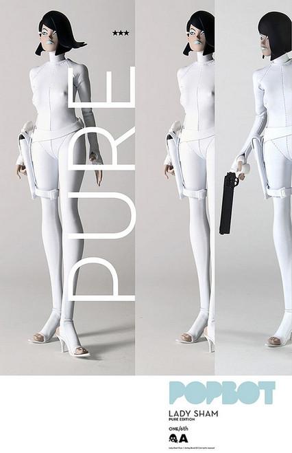 [3A-SHAM-P] THREEA Popbot Lady Sham Pure Edition