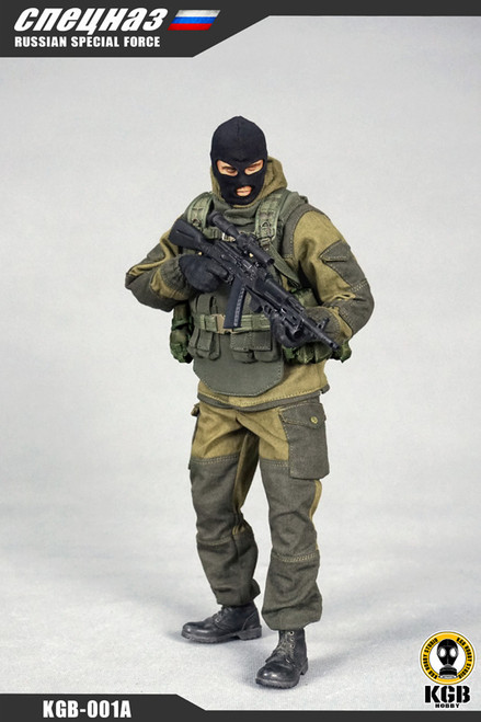 [KGB-001A] KGB Hobby Russian Special Force Set A (480 PCS Limited Edition)
