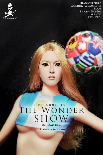 [WLS-S002A] The WONDER SHOW 002 - SOCCER BABES ARG LaAlbiceleste by Wondery