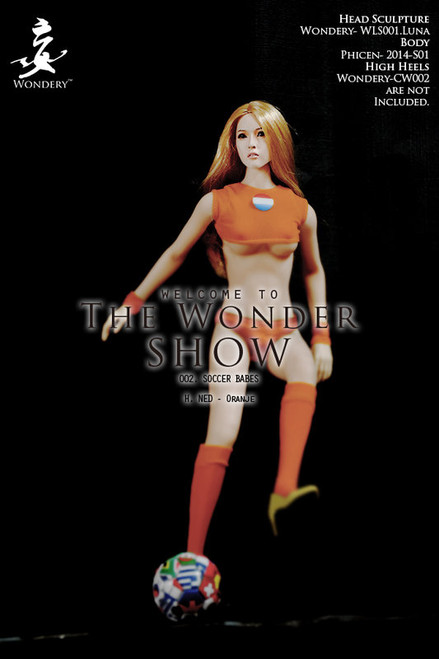 [WLS-S002H] The WONDER SHOW 002 - SOCCER BABES NED Oranje by Wondery
