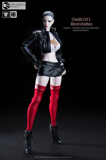 [OE-D11] ORIGINAL EFFECT Outfit D11 Rivetclothes Action Figure Accessories