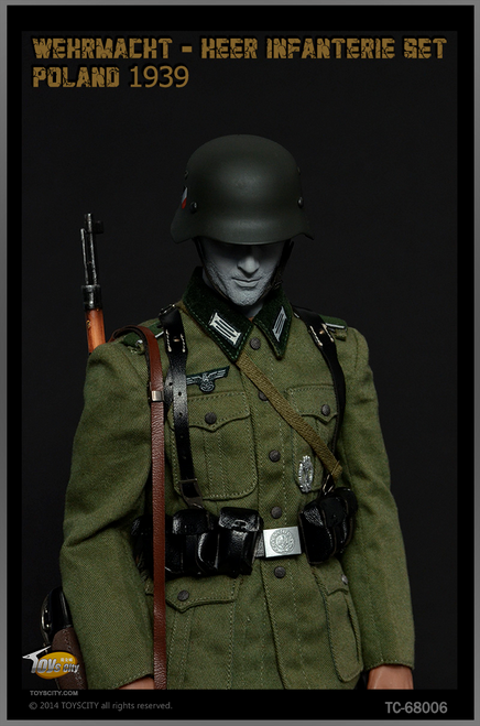 [TC-68006] Toys City WWII Wehrmacht Heer Infanterie Set B, Poland 1939 Action Figure Accessories