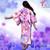 [VST-HF008] 1/6 Light Purple Japanese Kimono Clothing by VS Toys