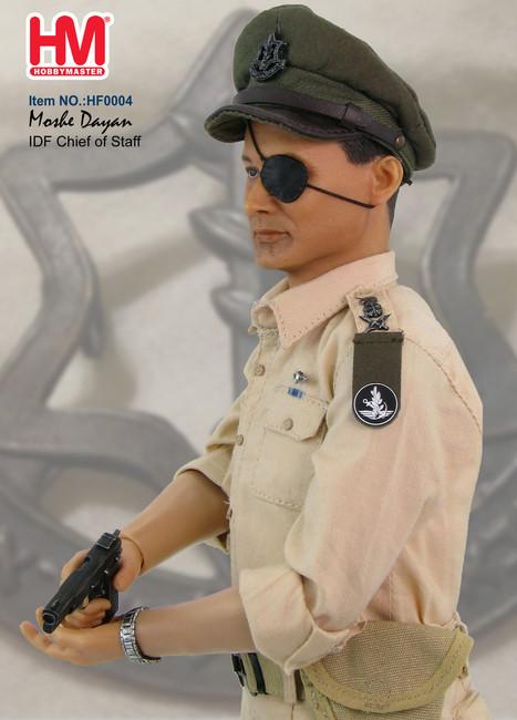 [HM-HF0004] Hobby Master IDF Chief of Staff Moshe Dayan (1956) 1:6 Boxed Figure
