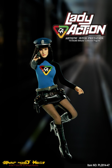 [PL-2014-47] Phicen Limited CA Lady Action 1:6 Collector Figure Boxed Set