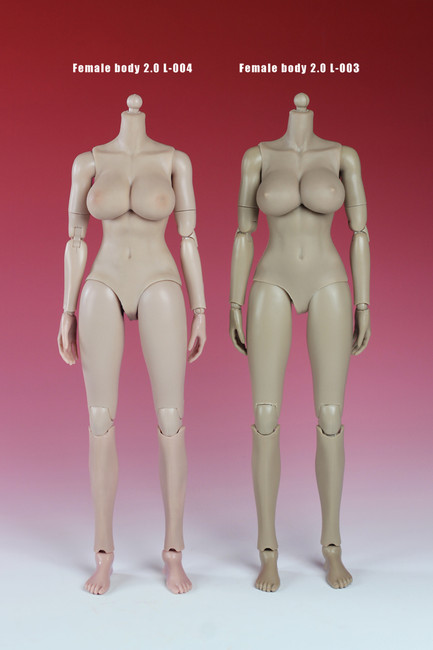 [PT-XL004] Play Toy Collectible Female Pale Action Figure Body 2.0 L: D Cup+