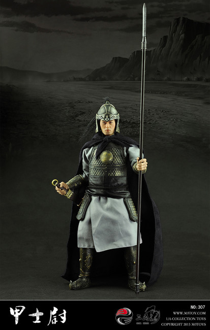 [303T-307] 303 Toys China Series Soldier Captain Boxed Figure