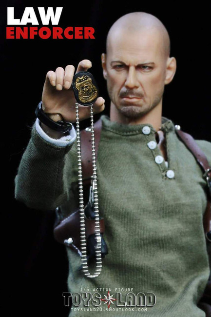 [TL-1401B] Toysland Law Enforcer with 1:6 MX Action Figure Body