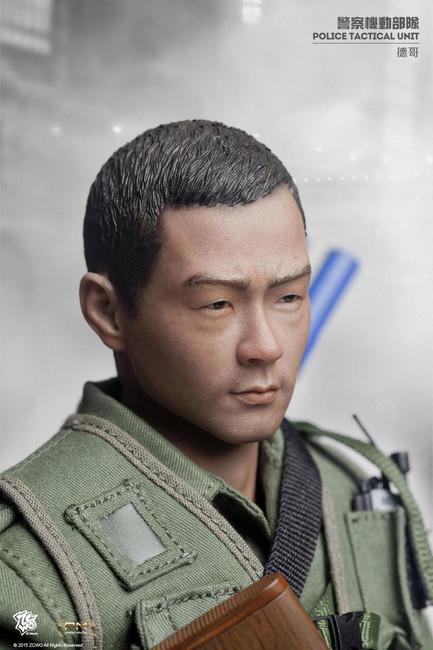 "[ZC-171] ZCWO 1:6 HK Police Tactical Unit ""Tak"" Action Figure"