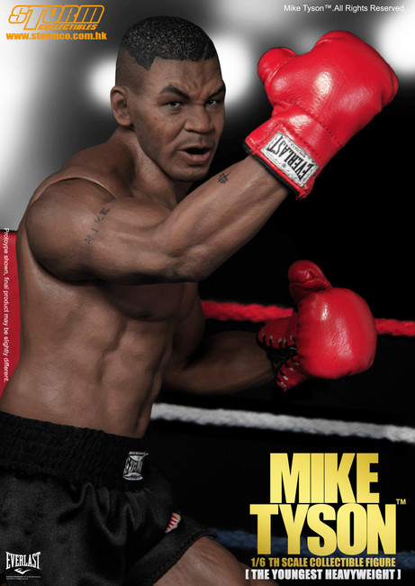 "[SM-1501] MIKE TYSON ""The Youngest Heavyweight World Champ"" Action Figure"