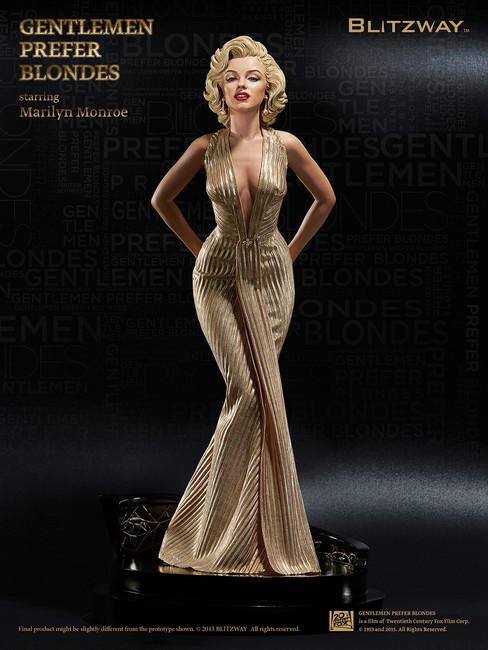 [BW-SS00703] BLITZWAY 1:4 Marilyn Monroe Statue, Gentlemen Prefer Blondes, 1953