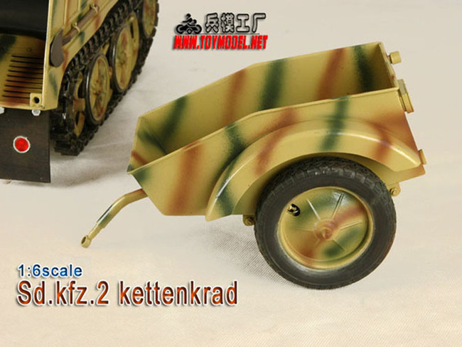 [TM-1502] 1:6 Scale Toy Model Sd.Kfz. 2 Kettenkrad Trailer