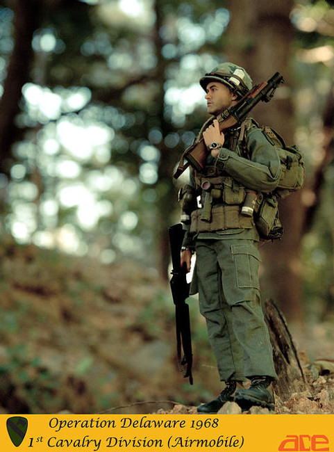 [ACE-13011] ACE Workshop Operation Delaware 1968 1st Cavalry Division (Airmobile) Action Figure