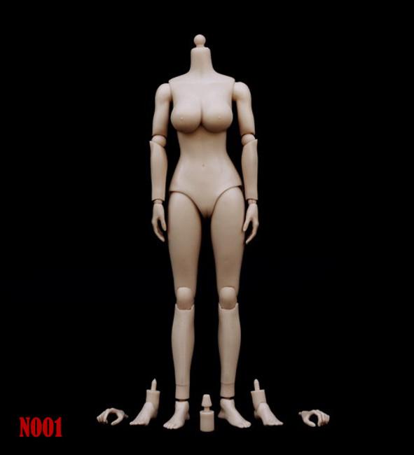 [ZY-N001] ZY Toys 1:6 Female Big Breast Body in Pale Skin