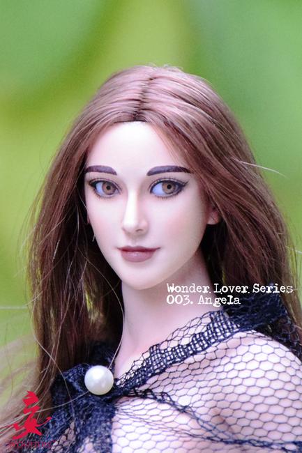 [WLS-003] Wondery 1:6 Lover Series Angela Female Figure Headsculpt