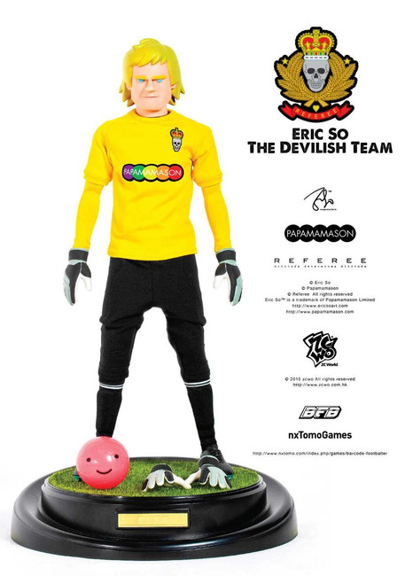 [ZC-181] ZCWO 1:6 Eric So The Devilish Team X BFB - KANN Designer Figure