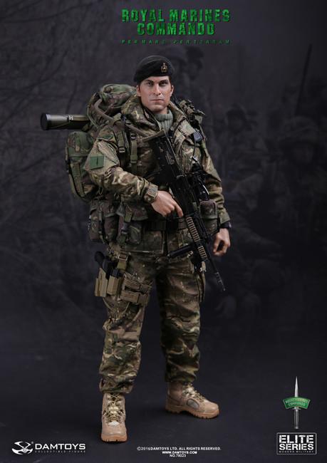 [DAM-78023] DAM TOYS Modern British Royal Marines Commando Action Figure Boxed Set