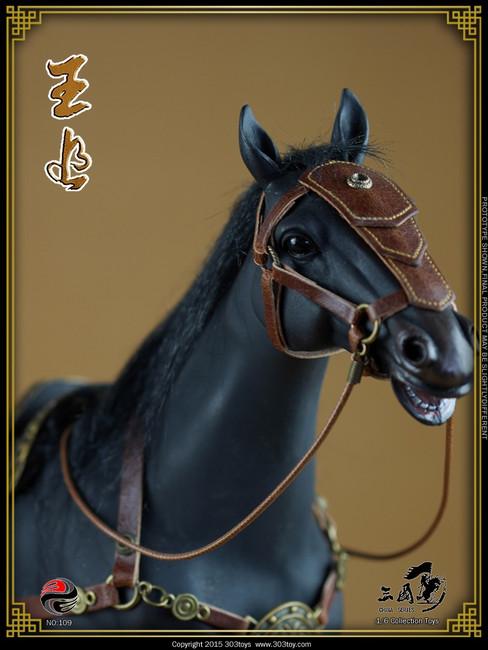 [303T-109] 303 Toys Zhang Fei 張飛 (Yide) Steed Wangzhui Horse