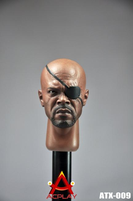 [AP-ATX009] ACPLAY Samuel Character Head for 1:6 Action Figure