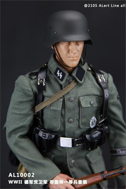 [AL-10002] Alert Line WWII German Waffen-SS Soldier 1:6 Uniform Set & Accessories