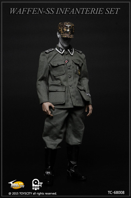 [TC-68008] Toys City WWII German Waffen-SS Infanterie Set B Action Figure Accessories