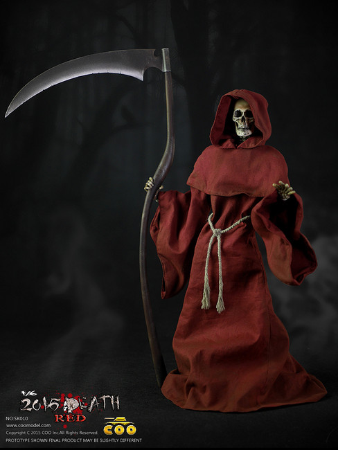 [CM-SK10] COO Model Death (Red Edition) 1:6 Skeleton Body