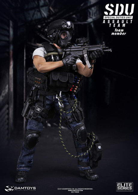 [DAM-78026] DAM TOYS Hong Kong Police SDU (Special Duties Unit) Flying Tigers 飛虎隊 Assault Team - Member
