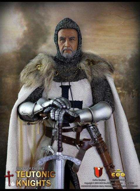 [CM-SE001] COO Model Teutonic Knights Medieval Period 1:6 Boxed Figure