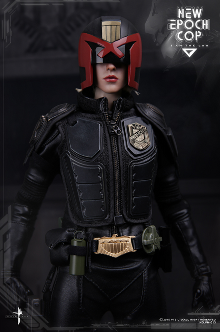 [VTS-VM013] Virtual Toys New Epoch / Heavy Armored Cop 1:6 Boxed Female Action Figure