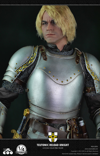 [CM-LS001] COO Model 1:4 Legend Series Teutonic Reload Knight Action Figure