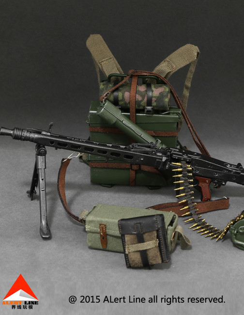 [AL-10006] Alert Line WWII German MG42 Machine Gun Suits