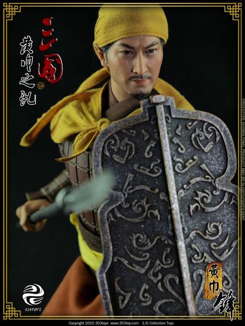 [303T-310] 303 Toys Yellow Turban Rebellion 黃巾軍 One-Sixth Boxed Figure