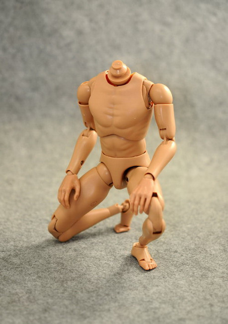 [ZY-B001] ZY TOYS Narrow Shoulders 1:6 Action Figure Body