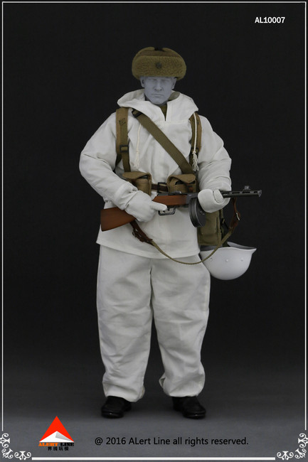 [AL-10007] Alert Line WWII Winter Soviet Soldier Suit