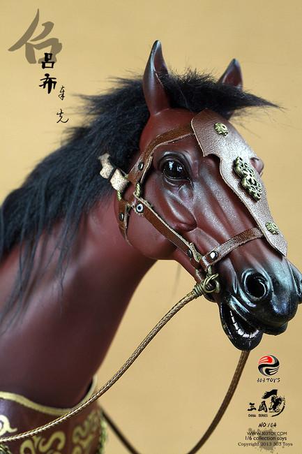 "[303T-104] 303 Toys Three Kingdoms Series 1/6  ""Lu Bu Horse"""