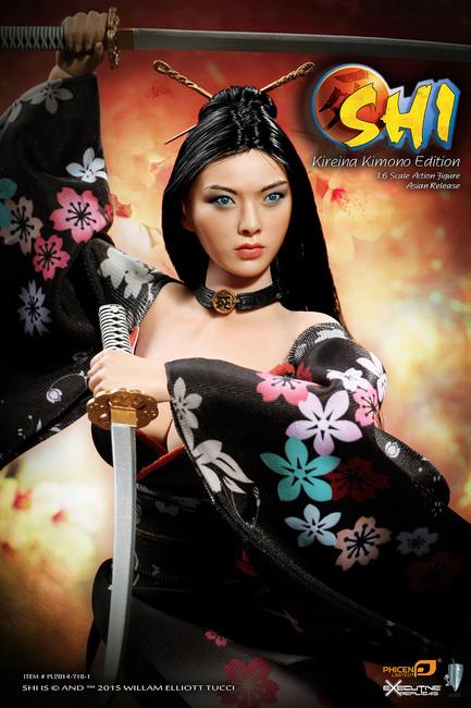[PL2014-71B-1] Phicen Shi in Kimono 1:6 Scale Collector Female Figure Asia Version