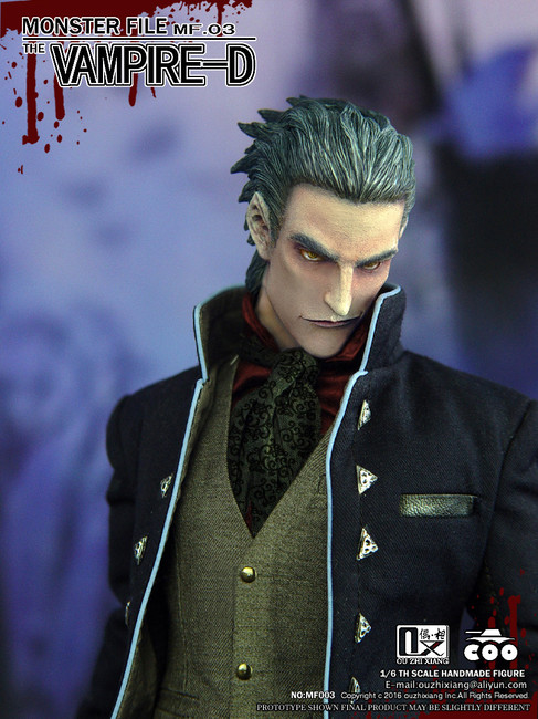 [CM-MF003] COO Model X Ouzhixiang Monster File Series 1:6 The Vampire Figure