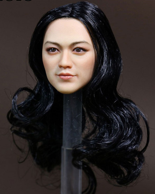 [KT-006] Kimi Toyz Asian Female Headsculpt for 1:6 Scale Figures