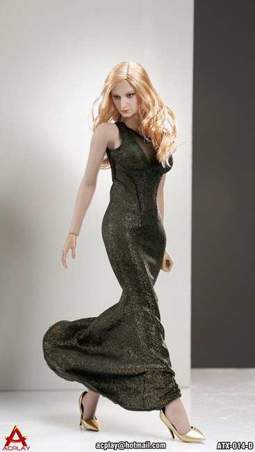 [AP-ATX014D] ACPLAY 1:6 Sleeveless Mermaid in Gold For Phicen Bodies