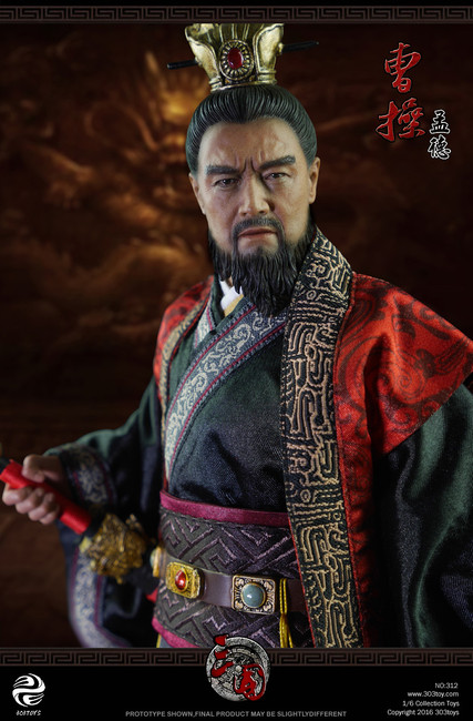 [303T-312] 303 Toys Cao Cao 曹操 A.K.A Mengde 1:6 Boxed Figure