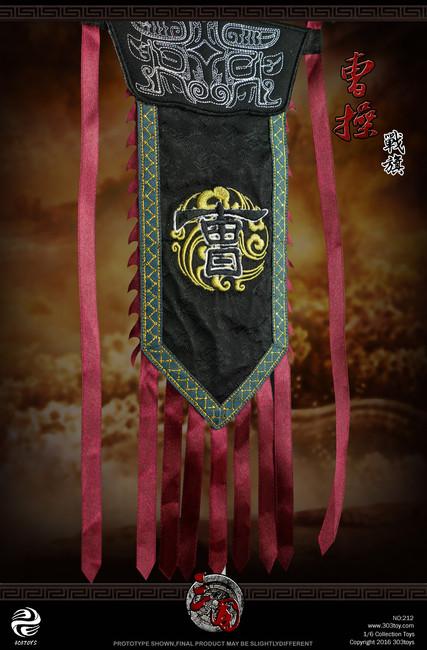 [303T-212] 303 Toys Cao Cao 曹操 A.K.A Mengde 1:6 Flag