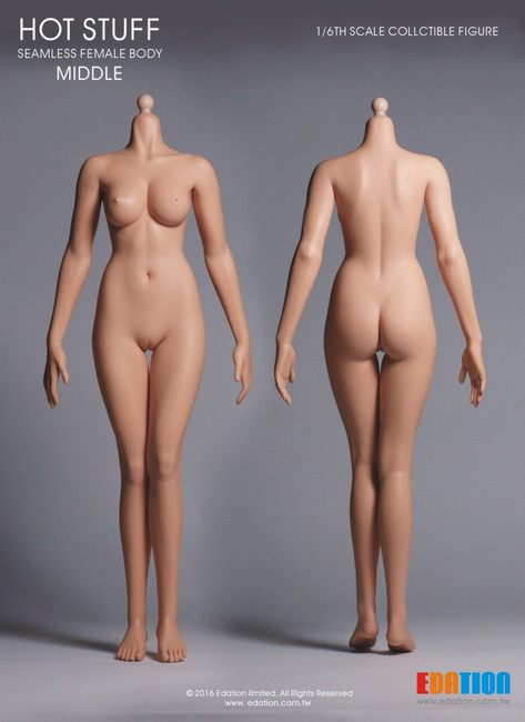 [EDA-M04] EDATION Hot Stuff 1/6 Third-Generation Female Middle Body, Cone Joint with White Tone